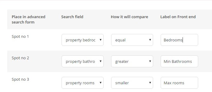 bedrooms search