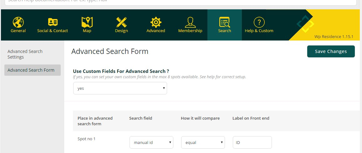 manual id search