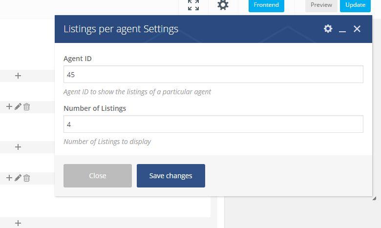 agent listings