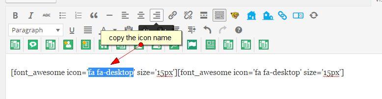 icon name