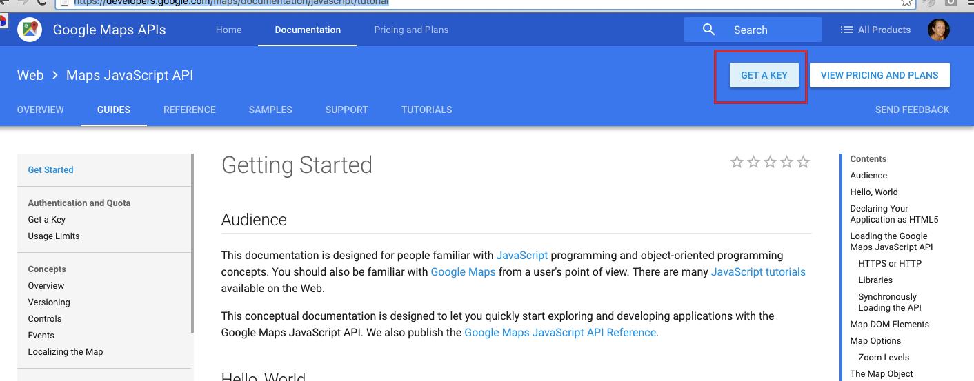 Mandatory: Google Maps API KEY - WP Rentals Help